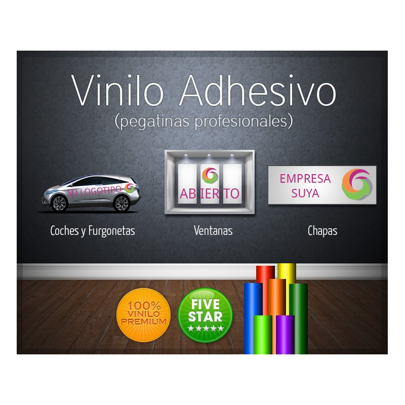 Vinilos adhesivos para instalacion servicio de entrega a for Adhesivos de vinilo