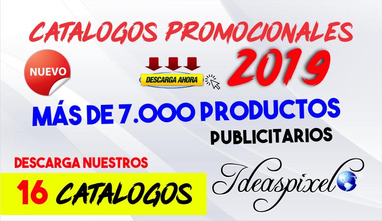 Catalogos promocionales para Impresion 2019